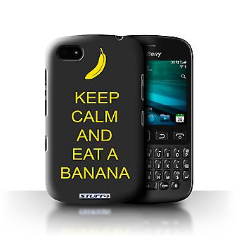 STUFF4 Case/Cover voor Blackberry 9720/eet een banaan/geel/Keep Calm