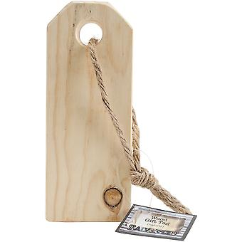 Salvaged Wood Gift Tag-Natural GTNAT
