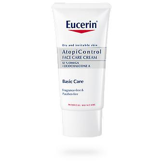 Eucerin Face Cream for tørr hud 50 ml (kosmetikk, ansikts, kremer med behandling)