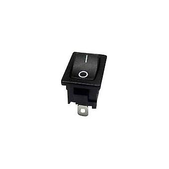 Toggle switch 250 Vac 10 A 1 x Off/On SCI R13-66AA-02 latch 1 pc(s)