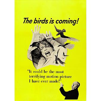 The Birds Movie Poster Masterprint