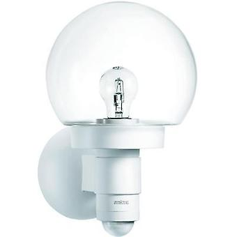 Outdoor wall light (+ motion detector) Energy-saving bulb, LED E27 60 W Steinel L 115 S 657413 White