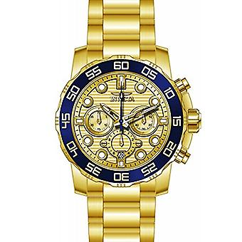 Invicta 22227 Chronograph Yellow Bracelet