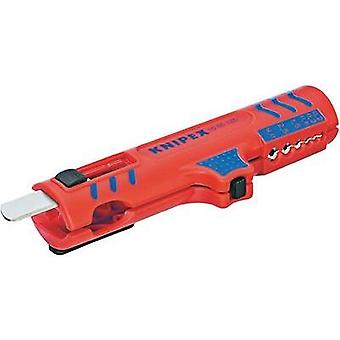 Cable stripper Suitable for Round cable, Wet room cables 8 up to 13 mm 0.2 up to 4.0 mm² Knipex 16 85 125 SB