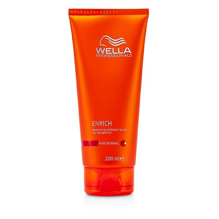 Wella Enrich Moisturizing Conditioner For Dry & Damaged Hair (Fine/Normal) 200ml/6.7oz