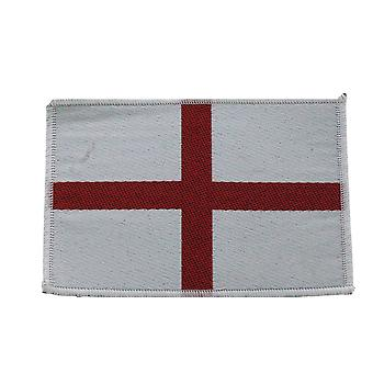 St George Flag Woven Patch