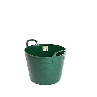 42lt Flexi Tub Green Garden Builders Bucket Flexible Plastic