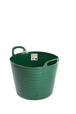 42lt Flexi Tub Green Garden Builders Bucket Flexible Plastic