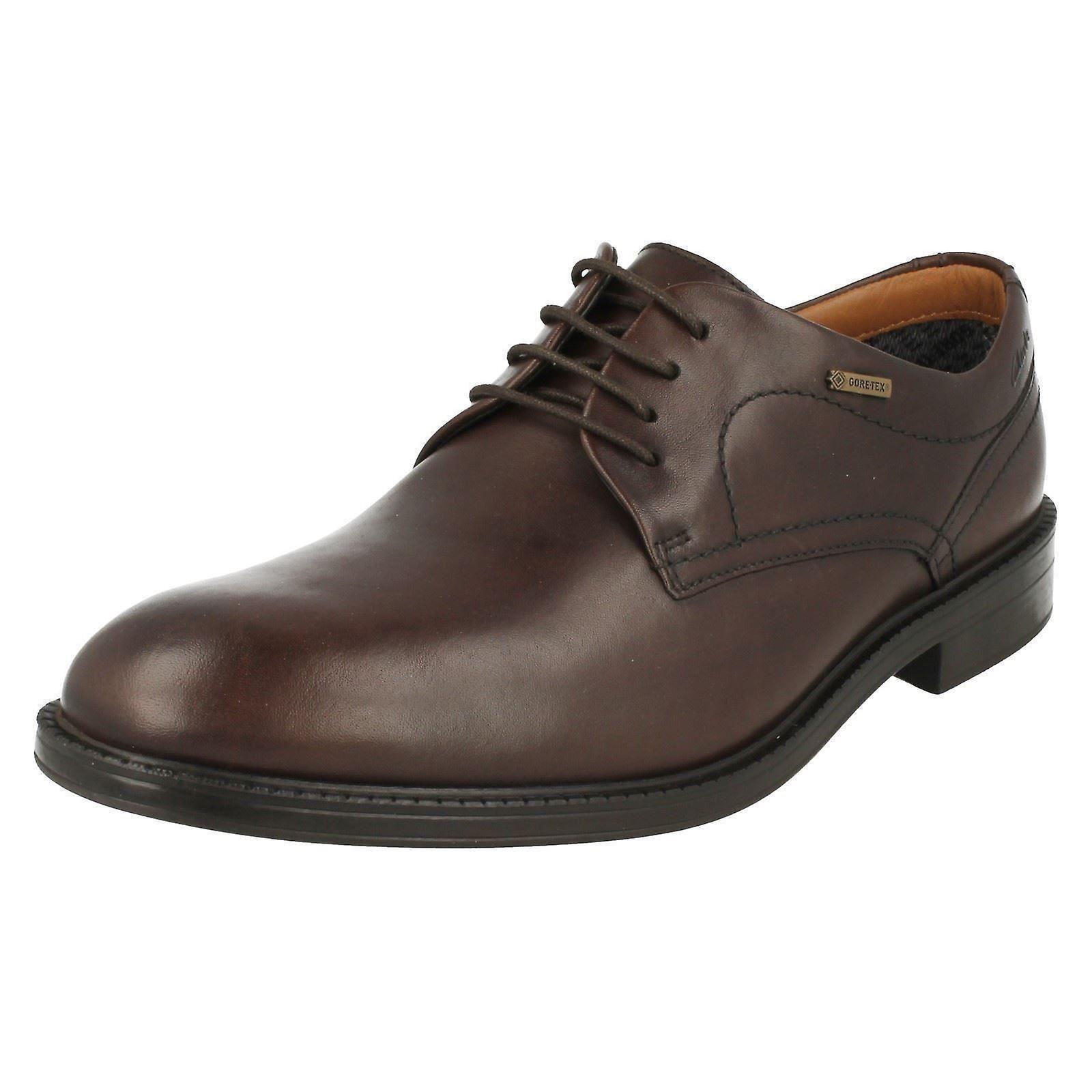 Smart Up Mens Clarks ChilverWalk Lace Shoes GTX C78565qwW