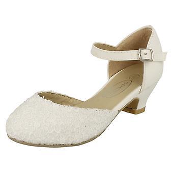 Jenter flekk på elegante Smart brudepike hæler H3045