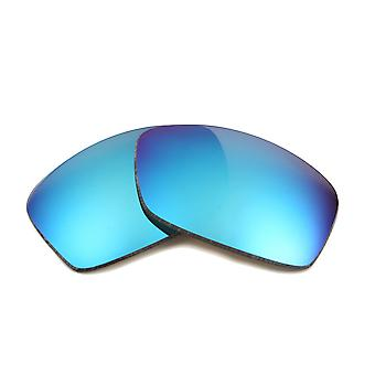 New SEEK Polarized Replacement Lenses for Oakley Sunglasses HIJINX Blue Mirror