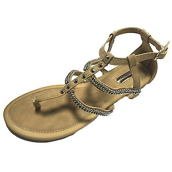Ex Dorothy Perkins Detailed Sandals