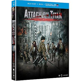 Attack on Titan the Movie : Part 2 [Blu-ray] USA import