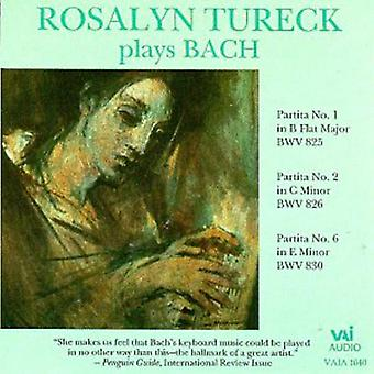 Rosalyn Tureck - Rosalyn Tureck Plays Bach [CD] USA import