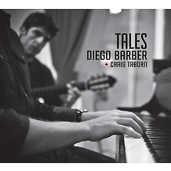Diego Barber & Craig Taborn - Tales [CD] USA import