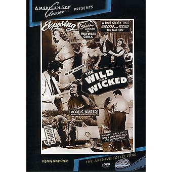 Vilde & Wicked (1956) [DVD] USA importerer