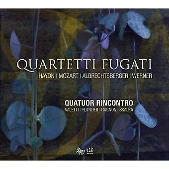 Rincontro kvartetten - Quartetti Fugati [CD] USA import