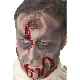 Loch im Kopf Wunde, Schussverletzung