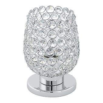 Eglo Bonares Crystal Clear Dome Table Lamp