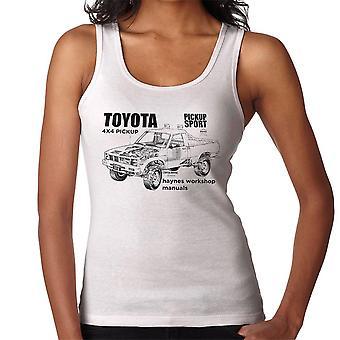 Haynes Workshop manuell Toyota Sport 4 x 4 svart kvinner Vest