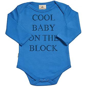 Spoilt Rotten Cool Baby On Block Organic Babygrow