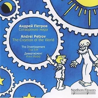 Divertissement strygeorkester - Andrei Petrov - skabelsen af verden [CD] USA importen
