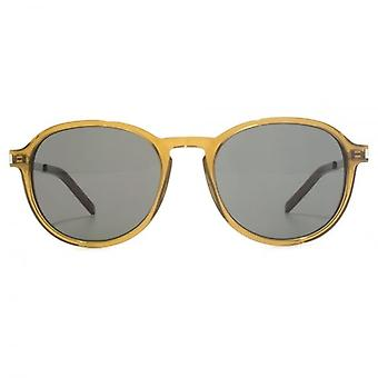 Saint Laurent SL 110 Sunglasses In Olive