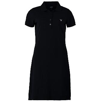 GANT Damen Original Pique Polo-Kleid - Navy