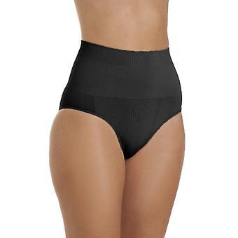 Camille Womens Seamfree Shapewear Komfort Steuerelement Slip In schwarz