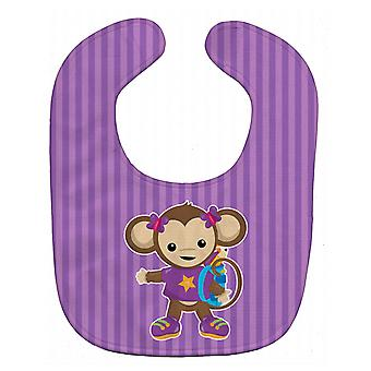 Carolines Treasures  BB7017BIB Monkey with Backpack Baby Bib