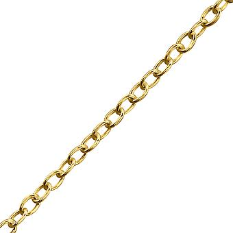 Round Link - 925 Sterling Silver Single Chains - W29585x