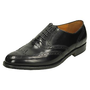 Mens Barker Brogue Style Shoes Albert