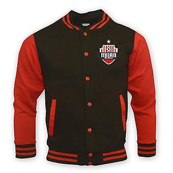 Ac Milan College Baseball Jacket (black)