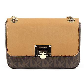 Michael Kors Womens Handbag Tina 35t7gt4f2b Brn Acorn