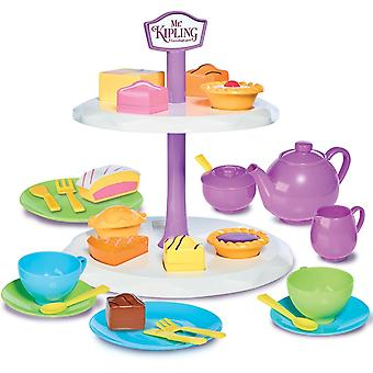 Casdon Mr Kiplings Etagere & Tee-Set