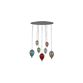 Ideal Lux - Clown Farbe Oval Anhänger Idl100937