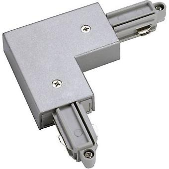 High voltage mounting rail L-shape connector SLV