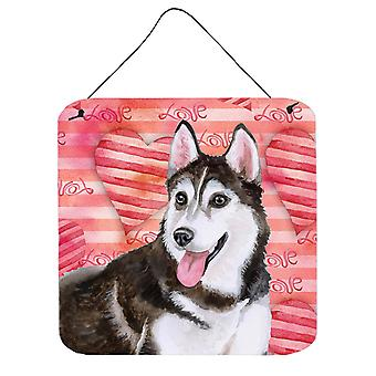Siberian Husky #2 Love Wall or Door Hanging Prints