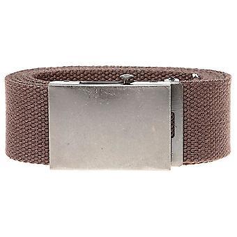 D555 Edward 4.0 cm Plain Webbing Belt