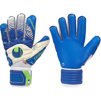 UHLSPORT ELIMINATOR AQUASOFT OUTDRY Goalkeeper Gloves Size