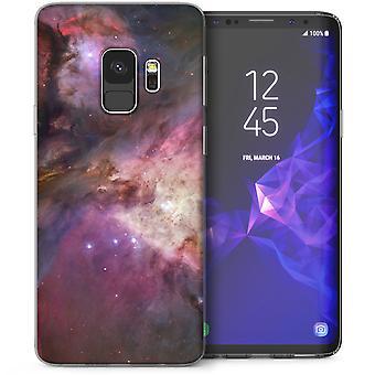 S9 Samsung galaxia cósmica nubes Gel TPU caso - púrpura