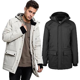 Urban classics - heavy hooded Thumbhole parka winter jacket