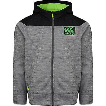 Canterbury Clothing Boys Vaposhield Fleece Zip Through Hoodie Hoody