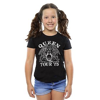 Queen Girls Tour 75 Crest T-Shirt
