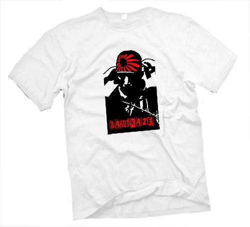 Womens T-shirt-Kamikaze-Pilot-Japanisch