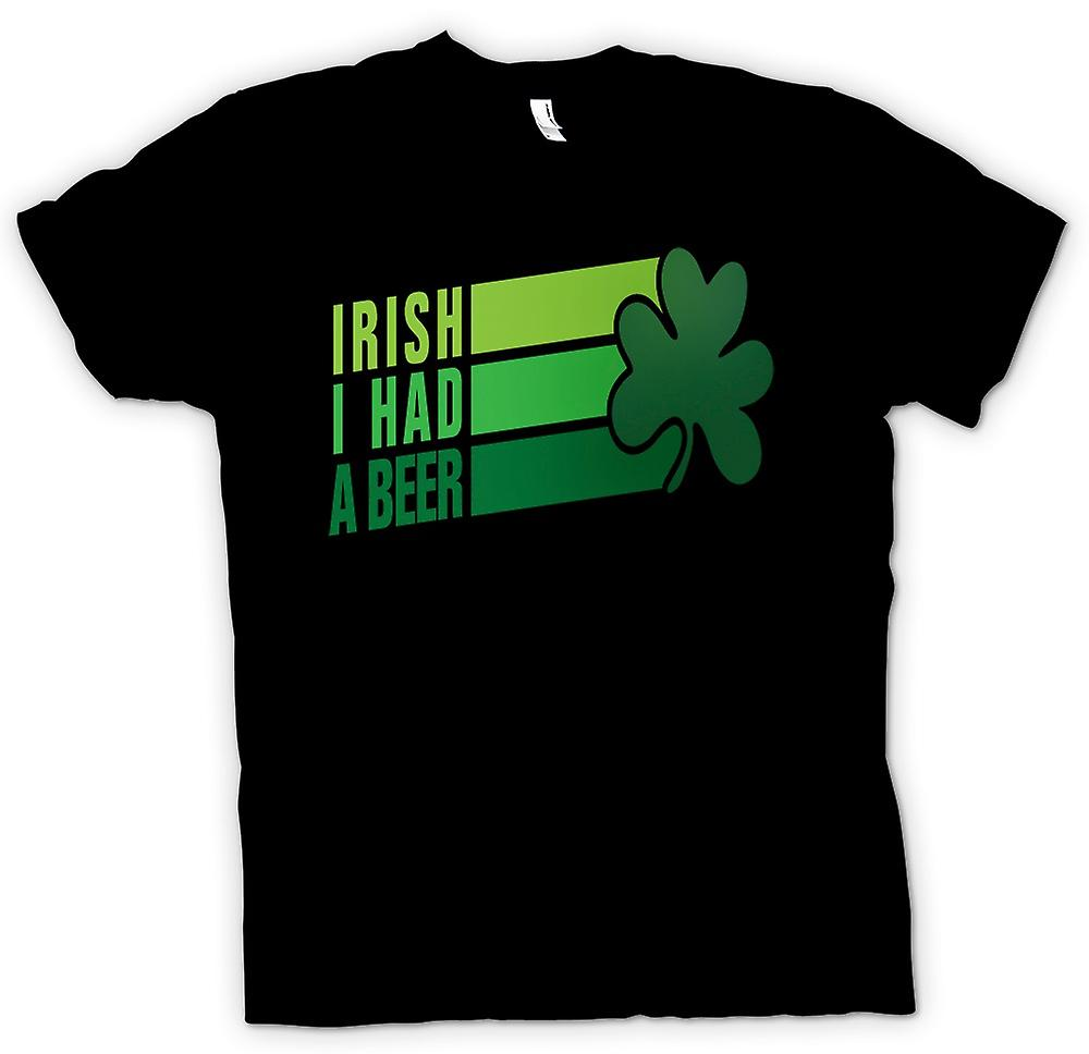 Mens T-shirt - St Patricks Day Irish Beer - Funny