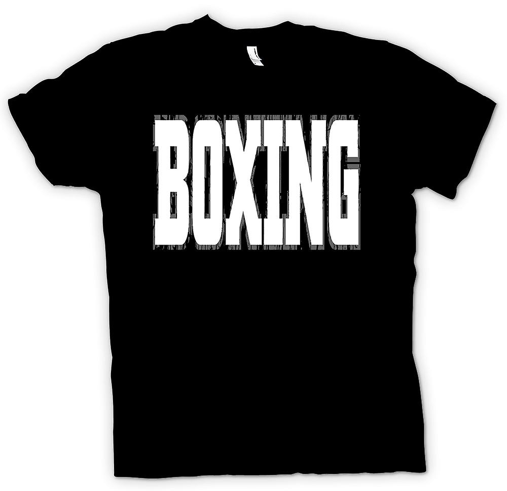 Womens T-shirt - Boxing - Martial Art - Slogan