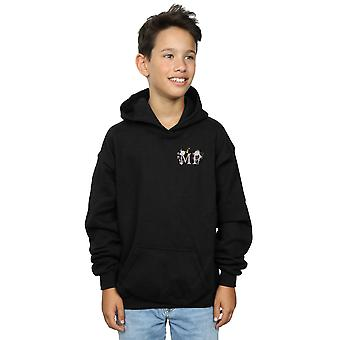 Disney Boys Mary Poppins Letter Breast Print Hoodie