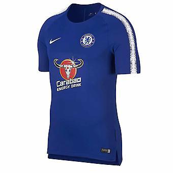 2018-2019 Chelsea Nike Training Shirt (Blue)