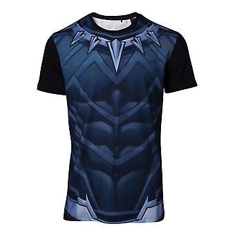 Black Panther Cosplay T-Shirt flerfärgad X-Large (TS764820MVL-XL)